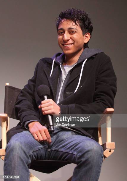 Actor Tony Revolori attends Meet The Filmmakers at Apple Store Soho on February 24 2014 in New York City
