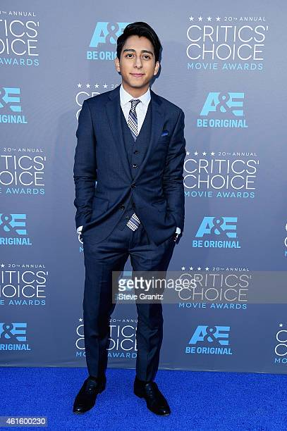 Actor Tony Revolori attends the 20th annual Critics' Choice Movie Awards at the Hollywood Palladium on January 15 2015 in Los Angeles California