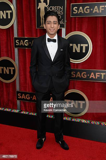 Actor Tony Revolori attends the 21st Annual Screen Actors Guild Awards at The Shrine Auditorium on January 25 2015 in Los Angeles California