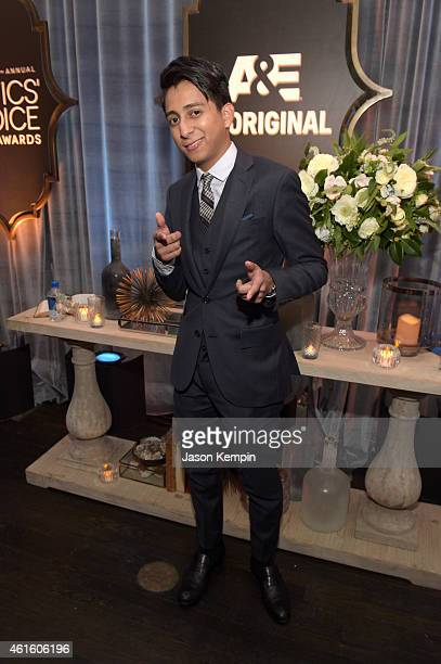 Actor Tony Revolori attends the after party for the 20th annual Critics' Choice Movie Awards at the Hollywood Athletic Club on January 15 2015 in Los...