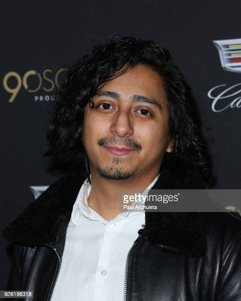 Actor Tony Revolori attends the Cadillac celebration for the 90th Annual Academy Awards at Chateau Marmont on March 1 2018 in Los Angeles California