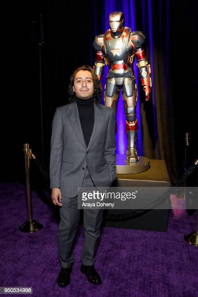 Actor Tony Revolori attends the Los Angeles Global Premiere for Marvel Studios' Avengers Infinity War on April 23 2018 in Hollywood California