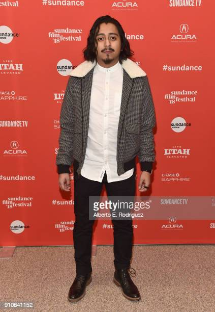 Actor Tony Revolori attends the premiere of The Long Dumb Road during the Sundance Film Festival at The Eccles Center Theatre on January 26 2018 in...