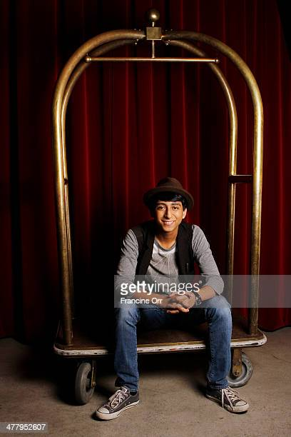 Actor Tony Revolori is photographed for Los Angeles Times on February 22 2014 in Los Angeles California PUBLISHED IMAGE CREDIT MUST READ Francine...