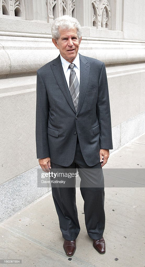 Actor Tony Roberts attends the funeral service for Marvin Hamlisch at Temple Emanu-El on August 14, 2012 in New York City. Hamlisch died in Los Angeles on August 6, 2012 at age 68. In his long and distinguished career, the composer and conductor received a Pulitzer Prize as well as the Oscar, Tony, Emmy and a GRAMMY.