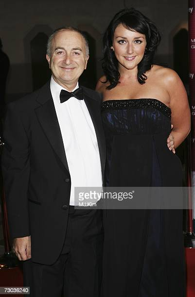 Actor Tony Robinson and guest arrive at the Morgan Stanley Great Britons Awards 2006 at the Guildhall on January 18 2007 in London England