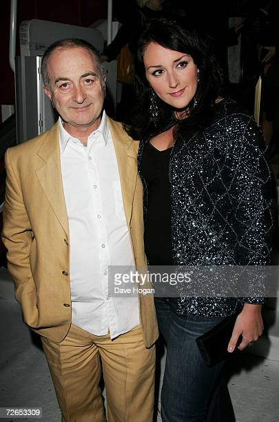 Actor Tony Robinson and his guest arrive at the world television premiere of 'Hogfather' at the Curzon Mayfair on November 27 2006 in London England