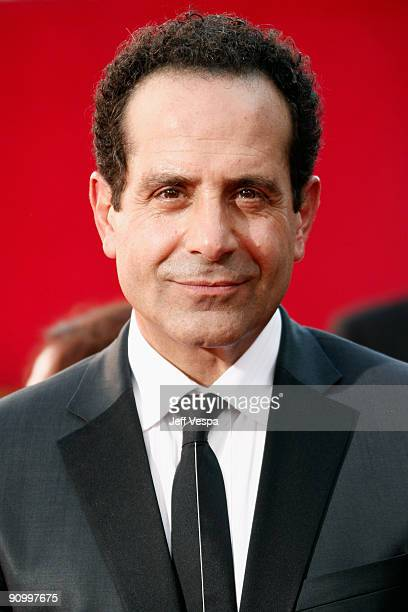 Actor Tony Shalhoub arrives at the 61st Primetime Emmy Awards held at the Nokia Theatre on September 20 2009 in Los Angeles California