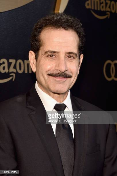Actor Tony Shalhoub attends Amazon Studios' Golden Globes Celebration at The Beverly Hilton Hotel on January 7 2018 in Beverly Hills California