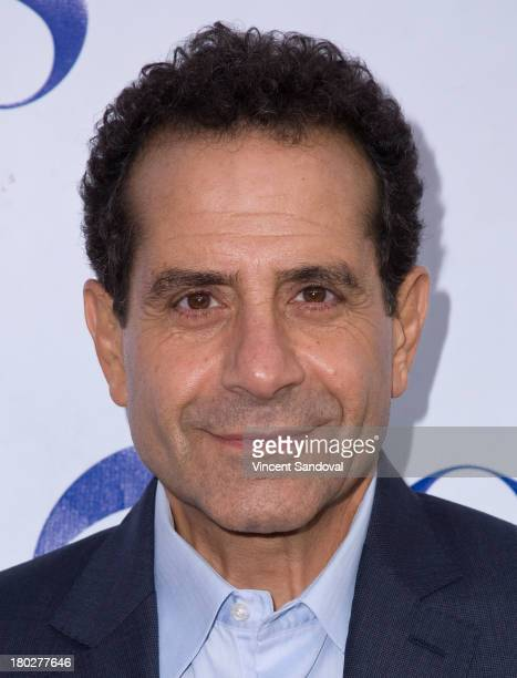 Actor Tony Shalhoub attends the CBS television studios hosts 1st annual National TV Dinner Night for new comedies 'The Millers' and 'We Are Men' at...
