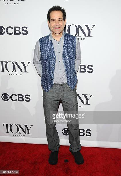 Actor Tony Shalhoub nominee for Best Performance by an Actor in a Leading Role in a Play for 'Act One' attends the 2014 Tony Awards Meet The Nominees...