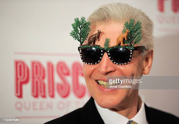 Actor Tony Sheldon attends the after party for the Broadway opening night of Priscilla Queen of the Desert The Musical at Pier 60 on March 20 2011 in...