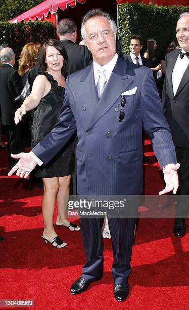 Actor Tony Sirico arrives at the 59th Annual Primetime Emmy Awards held at the Shrine Auditorium on September 16 2007 in Los Angeles California