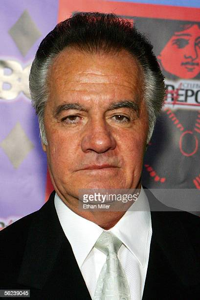 Actor Tony Sirico arrives at The Comedy Festival's Comedy Cares first annual Celebrity Poker Tournament at the Pure Nightclub at Caesars Palace...