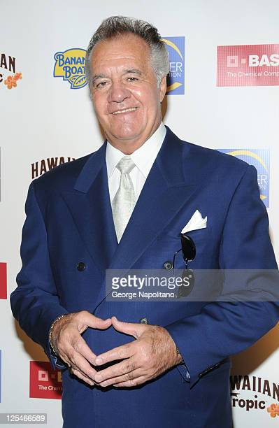 Actor Tony Sirico attends the 2010 Skin Cancer Foundation Skin Sense Award Gala at The Pierre Hotel on October 12 2010 in New York City