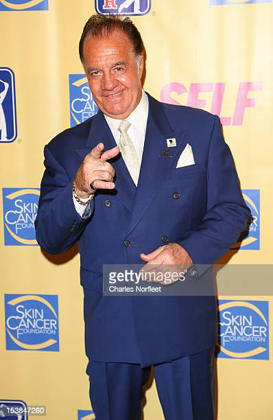 Actor Tony Sirico attends the 2012 Skin Sense Award Gala at The Plaza Hotel on October 9 2012 in New York City