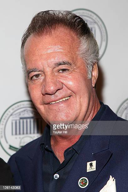 Actor Tony Sirico attends the 2nd annual Wall Street Warfighters Foundation Charity Poker tournament at Intrepid SeaAirSpace Museum on September 22...