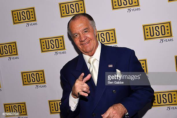 Actor Tony Sirico attends the 75th Anniversary USO Armed Forces Gala at Marriott Marquis Hotel on December 13 2016 in New York City