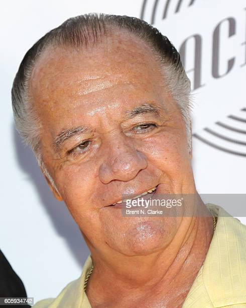Actor Tony Sirico attends 'The Beatles Eight Days a Week The Touring Years' New York premiere held at the Village East Cinema on September 15 2016 in...