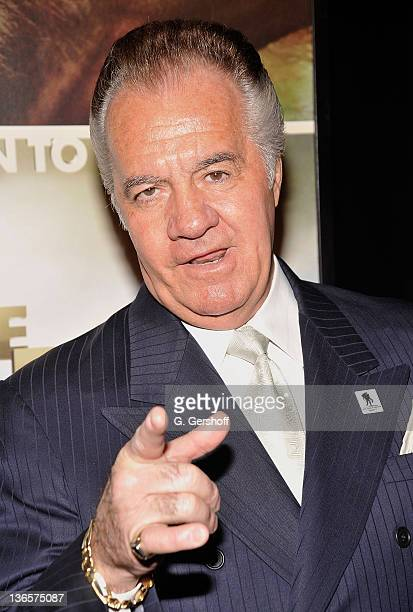Actor Tony Sirico attends the 'Born To Be Wild 3D' screening at AMC Lincoln Square Theater on April 7 2011 in New York City
