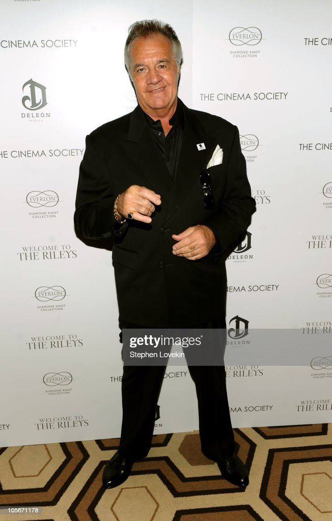 Actor Tony Sirico attends The Cinema Society & Everlon Diamond Knot Collection's screening of 'Welcome To The Rileys' on October 18, 2010 at the Tribeca Grand Hotel in New York City.
