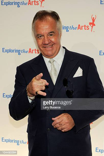 Actor Tony Sirico attends the Exploring the Arts Gala at Cipriani Wall Street on September 27 2010 in New York City