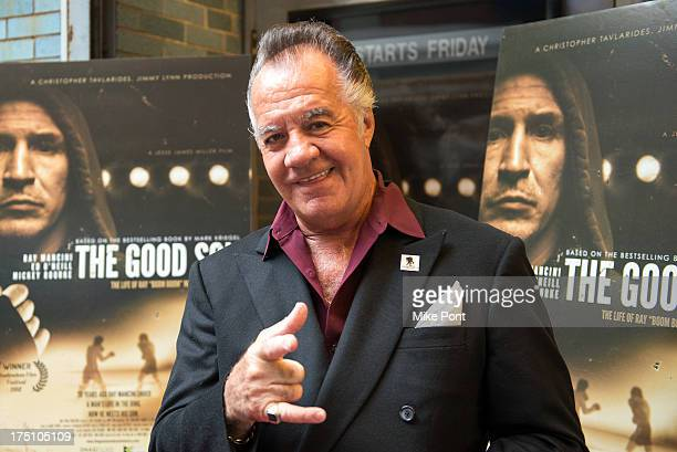 Actor Tony Sirico attends 'The Good Son' screening at Cinema Village on July 31 2013 in New York City