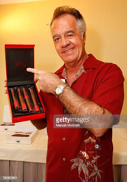 Actor Tony Sirico attends The Luxury Lounge in honor of the 2008 SAG Awards featuring Cao cigars held at the Four Seasons Hotel on January 26 2008 in...