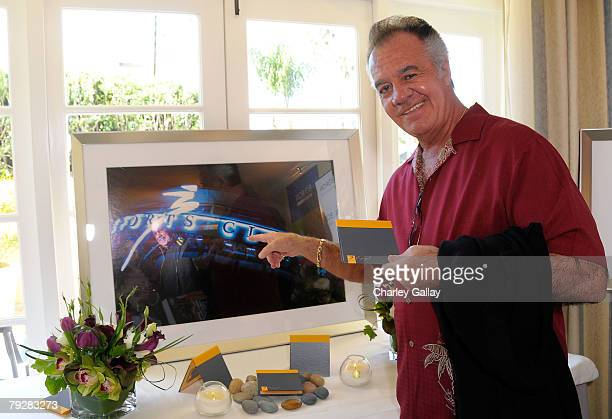 Actor Tony Sirico attends The Luxury Lounge in honor of the 2008 SAG Awards featuring Boiron products held at the Four Seasons Hotel on January 26...