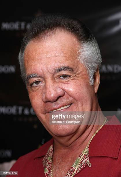 Actor Tony Sirico attends the Moet Chandon suite at The Luxury Lounge in honor of the 2008 SAG Awards held at the Four Seasons Hotel on January 26...