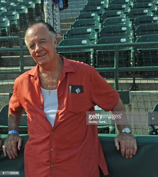 Actor Tony Sirico attends the NYPD Holds Fundraiser For Slain Officer Miosotis Familia at MCU Park in Coney Island on July 17 2017 in New York City