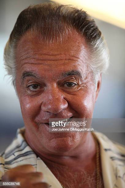 Actor Tony Sirico during the Miguel Cotto vs Yuri Foreman prefight weigh in at Yankee Stadium