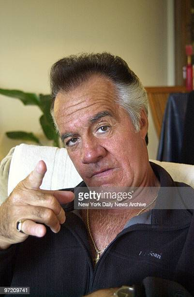 Actor Tony Sirico plays the tough guy in Bay Ridge Brooklyn