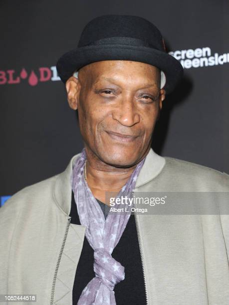 Actor Tony Todd arrives for Screamfest Closing Night 'Final Wish' held at the TCL Chinese Theatre 6 on October 17 2018 in Los Angeles California