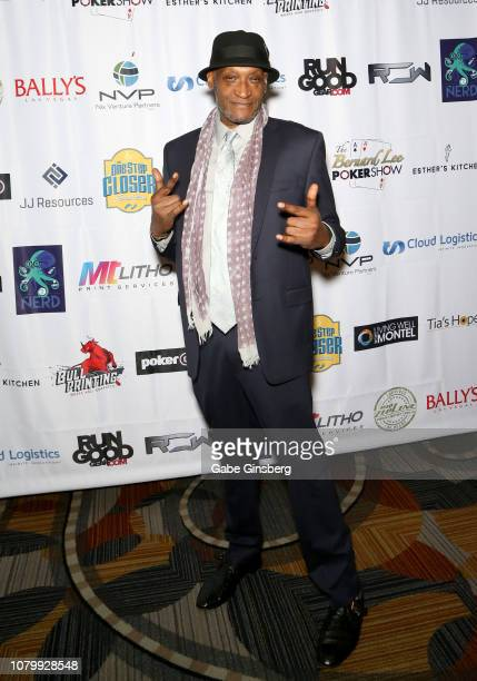 Actor Tony Todd attends the All in for CP celebrity charity poker event benefiting the One Step Closer Foundation's effort to fight Cerebral Palsy at...