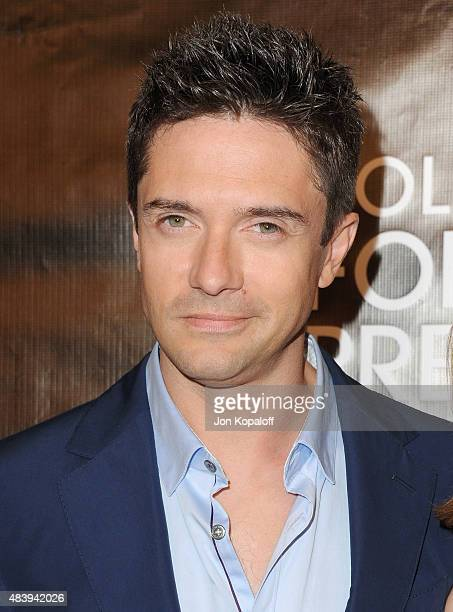 Actor Topher Grace arrives at Hollywood Foreign Press Association Hosts Annual Grants Banquet at the Beverly Wilshire Four Seasons Hotel on August 13...