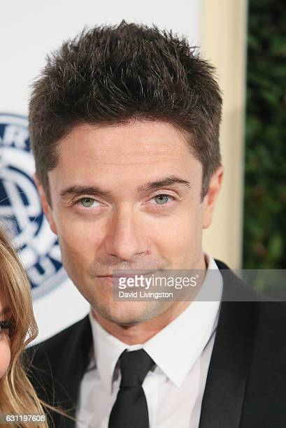 Actor Topher Grace arrives at The Art of Elysium presents Stevie Wonder's HEAVEN celebrating the 10th Anniversary at Red Studios on January 7 2017 in...