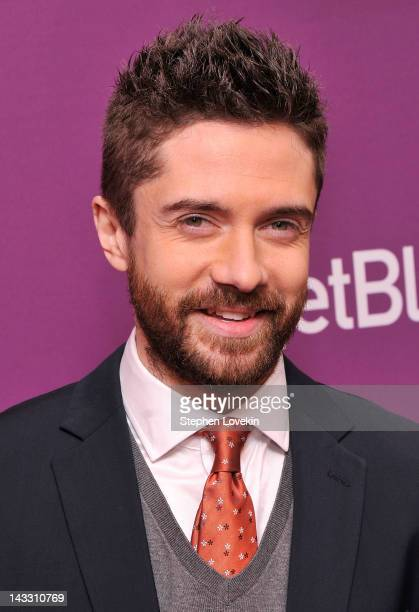 Actor Topher Grace attends 'Giant Mechanical Man' Premiere during the 2012 Tribeca Film Festival at the School of Visual Arts Theater on April 23...