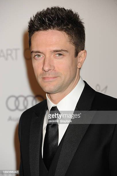 Actor Topher Grace attends the Art Of Elysium's 6th Annual Heaven Gala held at the 2nd Street Tunnel on Saturday January 12 2013 in Los Angeles...