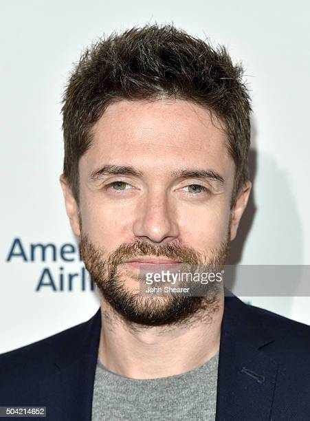 Actor Topher Grace attends the BAFTA Awards Season Tea Party at Four Seasons Hotel Los Angeles at Beverly Hills on January 9 2016 in Los Angeles...