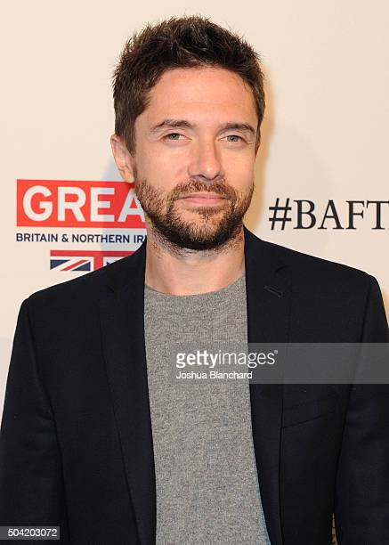 Actor Topher Grace attends the BAFTA Los Angeles Awards Season Tea at Four Seasons Hotel Los Angeles at Beverly Hills on January 9 2016 in Los...