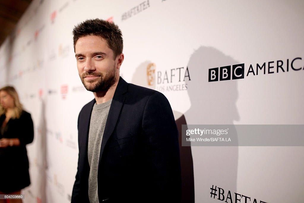 BAFTA Los Angeles Awards Season Tea - Red Carpet : News Photo