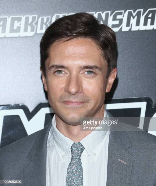 Actor Topher Grace attends the 'BlacKkKlansman' New York premiere at Brooklyn Academy of Music on July 30 2018 in New York City