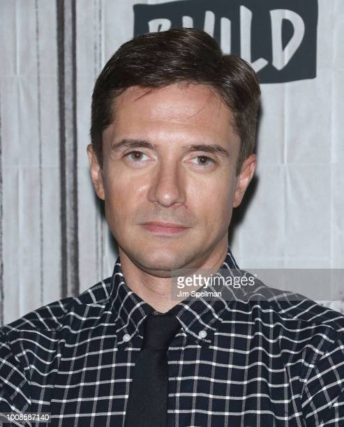 Actor Topher Grace attends the Build Series to discuss BlacKkKlansman at Build Studio on July 31 2018 in New York City