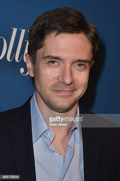 Actor Topher Grace attends The Hollywood Reporter's 4th Annual Nominees Night at Spago on February 8 2016 in Beverly Hills California