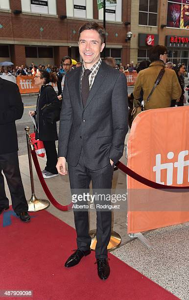 Actor Topher Grace attends the 'Truth' premiere during the 2015 Toronto International Film Festival at the Winter Garden Theatre on September 12 2015...