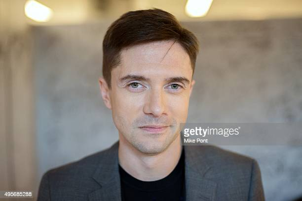 Actor Topher Grace discusses his new movie 'Truth' at AOL Studios In New York on November 4 2015 in New York City