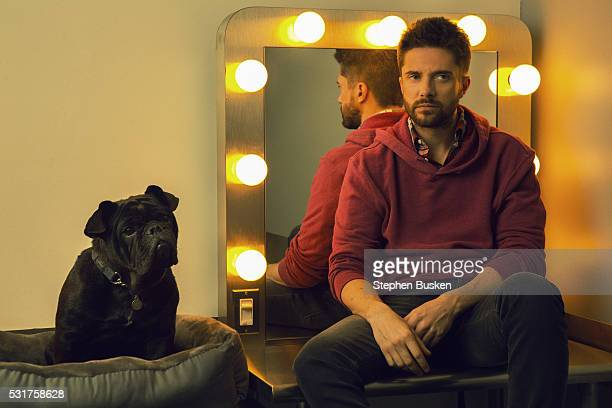 Actor Topher Grace is photographed for FSHN Magazine on January 14 2016 in West Hollywood California