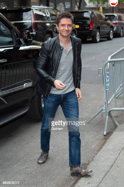 Actor Topher Grace is seen in the Lower East Side on May 16 2017 in New York City