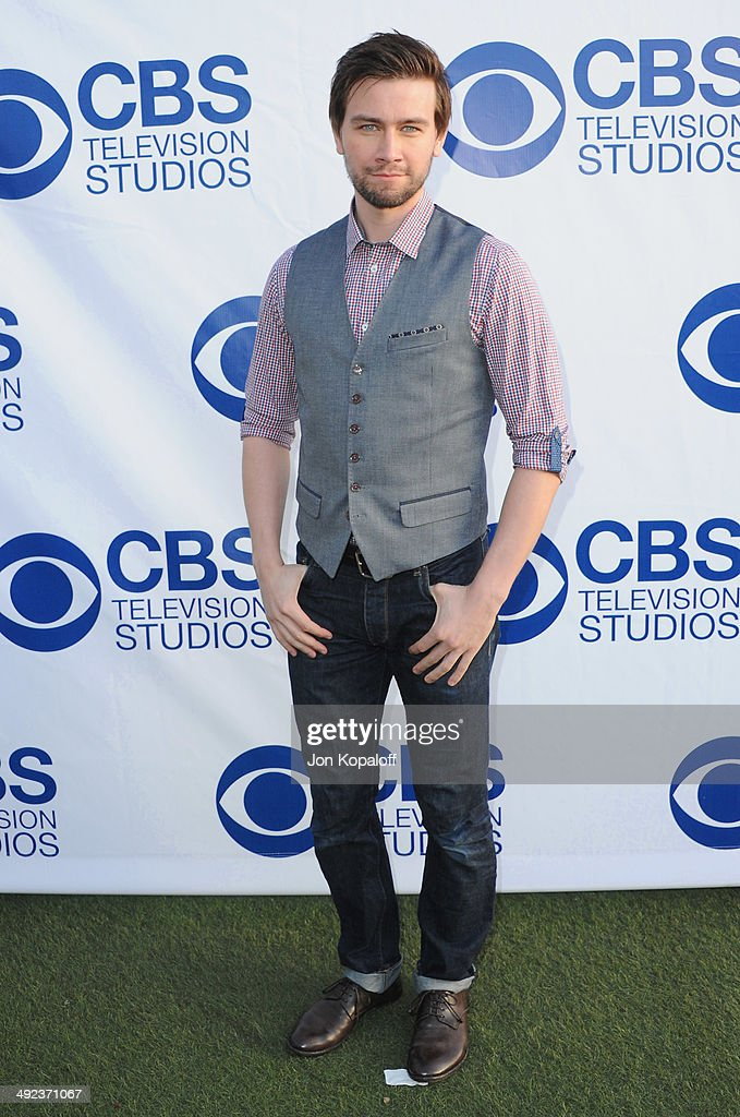 Actor Torrance Coombs arrives at the CBS Summer Soiree at The London West Hollywood on May 19, 2014 in West Hollywood, California.